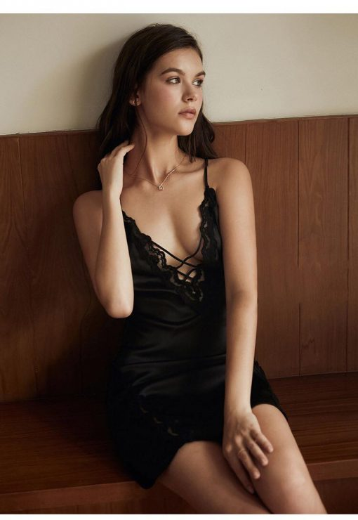 Váy Ngủ Thun Lạnh Cao Cấp - D558