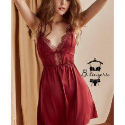 Váy Ngủ Màu Đỏ Gợi Cảm
