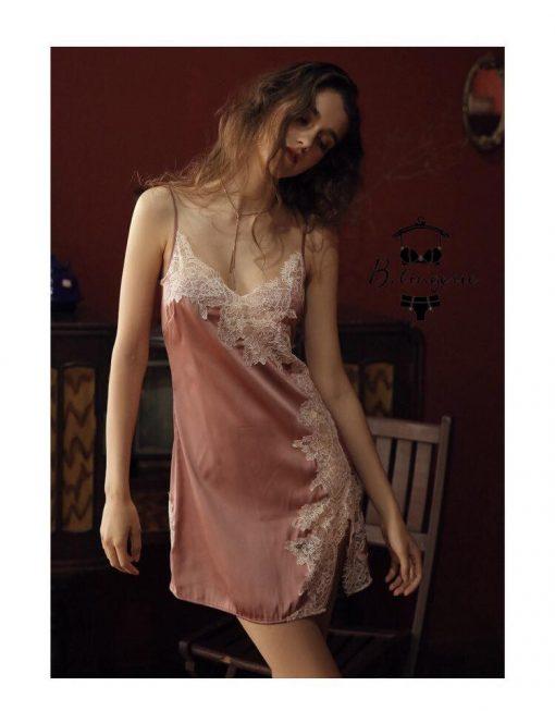 Váy Ngủ Hở Lưng Sâu
