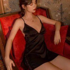 Váy Ngủ Tiểu Thư Dễ Thương - D729
