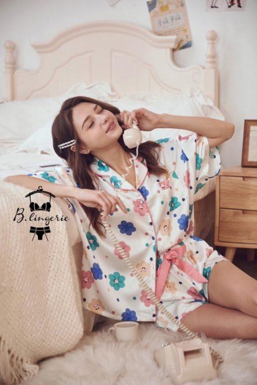 Đồ Bộ Ngủ Pijama Nữ Ngắn - BO899