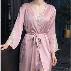 Váy Ngủ Kèm Khóa Áo Choàng