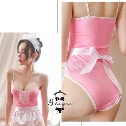 Bodysuit Cosplay Cô Hầu