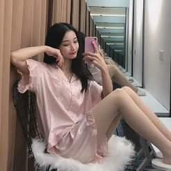 Pijama Nữ Ngắn