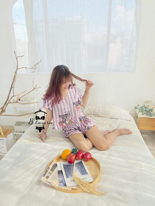 Đồ Bộ Pijama Nữ Ngắn