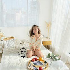 Đồ Pijama Nữ Ngắn Mickey