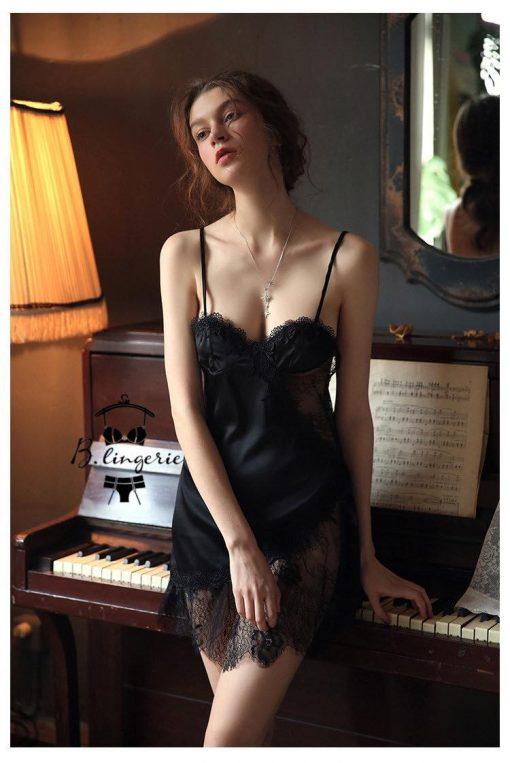 Váy Ngủ Lụa Cao Cấp