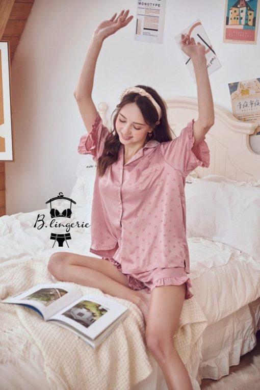 Đồ Ngủ Pijama Tay Ngắn