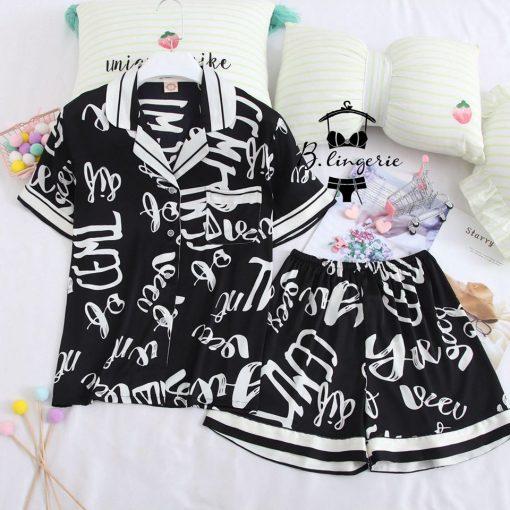 Đồ Ngủ Pijama Nữ Lửng