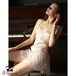 Váy Ngủ Lụa Cao Cấp - D730