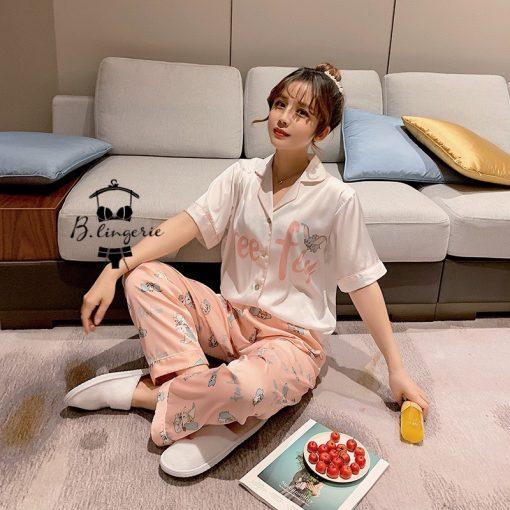 Đồ Ngủ Pijama Nữ Dài