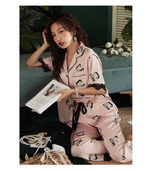 Đồ Ngủ Pijama Nữ Màu Trắng