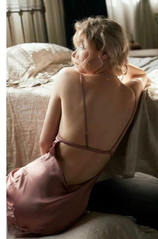 Váy Ngủ Hai Dây Quyến Rũ