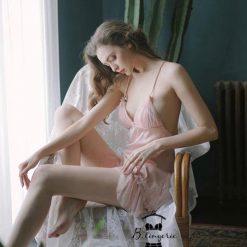 Váy Ngủ Lụa Satin