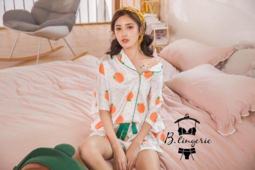 Đồ Pijama Ngắn Trái Cam