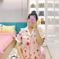 Đồ Bộ Pijama Dài Xinh Xắn - Blingerie