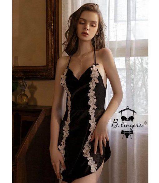 Áo Đầm Ngủ Dễ Thương