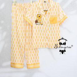 Đồ Bộ Pijama Nữ Cộc Tay Blingerie