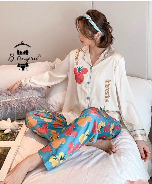 Đồ Ngủ Pijama Nữ Mùa Đông Blingerie