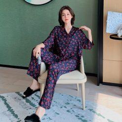 Đồ Bộ Ngủ Pijama Nữ G.U.E.S.S Blingerie