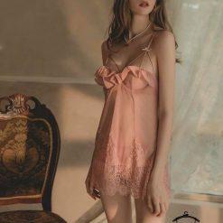 Đầm Ngủ Lưới Xuyên Thấu Blingerie (6)