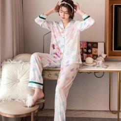 Đồ Bộ Pyjama Dài Tay Blingerie