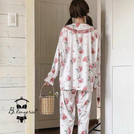 Đồ Ngủ Pijama Lụa Satin Blingerie