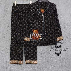 Đồ Ngủ Pyjama Gấu - Blingeerie