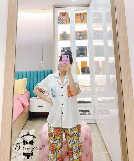 Đồ Ngủ Pyjama Hoạt Hình Blingerie