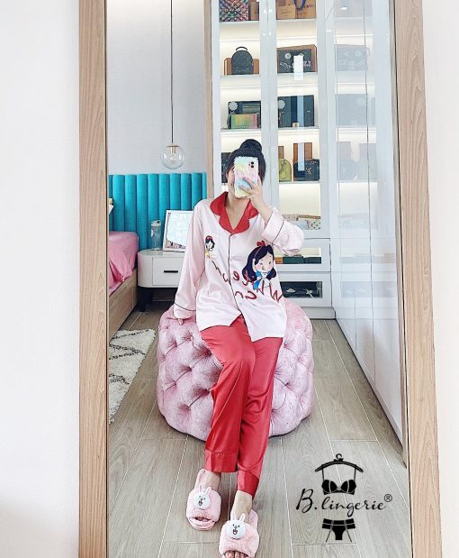 Đồ Ngủ Pyjama Lụa Satin Blingerie