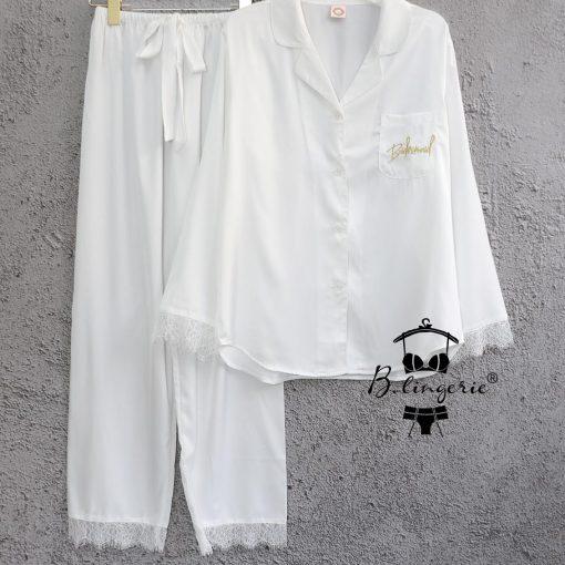 Đồ Ngủ Pyjama Nữ Mùa Đông Blingerie