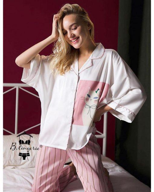 Đồ Pijama Cao Cấp Rộng Blingerie