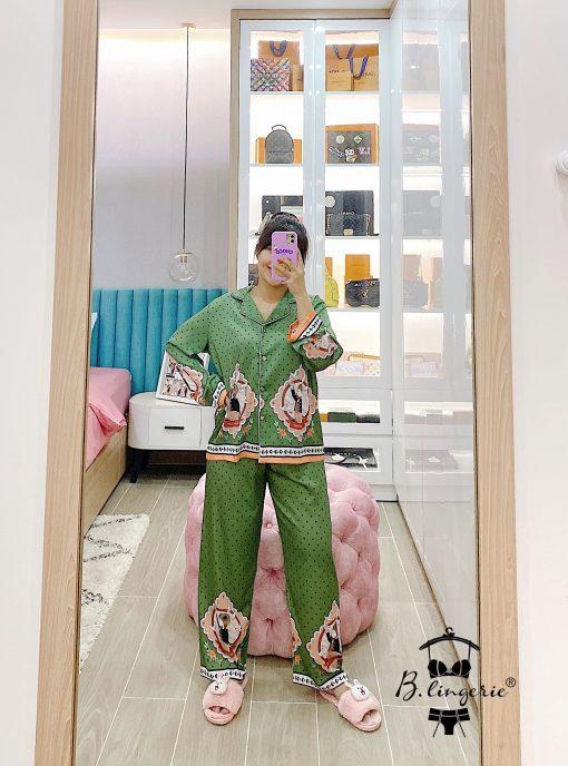 Bộ Đồ Ngủ Pyjama Nữ Blingerie