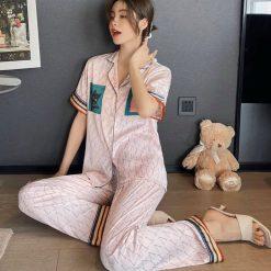 Đồ Bộ Ngủ Pyjama Ngắn Blingerie