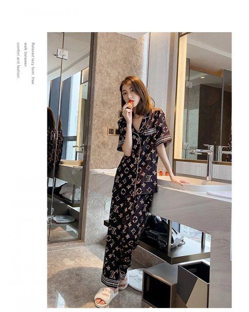 Đồ Bộ Ngủ Pyjama Nữ Quần Dài Blingerie