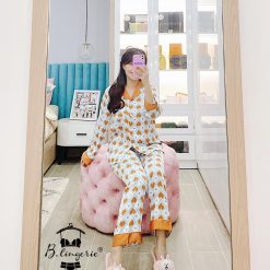 Đồ Bộ Pyjama Nữ Dài Blingerie
