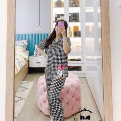Đồ Ngủ Pyjama Ngắn Tay Xinh Xắn Blingerie