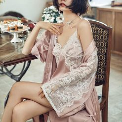 Váy Ngủ Kèm Áo Choàng Ngủ Blingerie