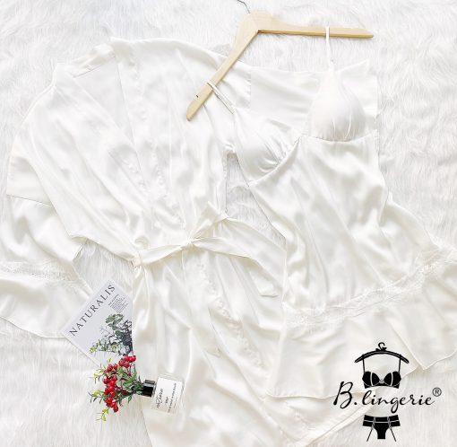 Váy Ngủ Khoác Áo Choàng Blingerie