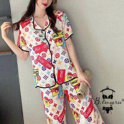 Pijama Nữ Hình S.U.P.R.E.M.E