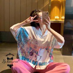 Pijama Nữ Mùa Thu
