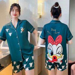Pijama Nữ Ngắn Vịt Daisy
