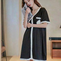 Váy Ngủ Sơ Mi Quyến Rũ Blingerie