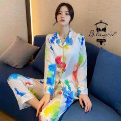 Bộ Đồ Ngủ Pyjama Dài L.V