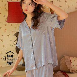 Đồ Bộ Ngủ Pyjama Ngắn Dễ Thương - Blingerie