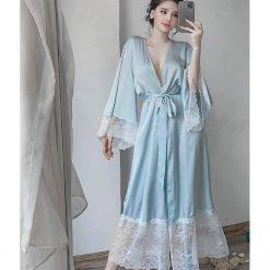 Váy Ngủ Áo Choàng Cao Cấp 2In1 - Blingerie